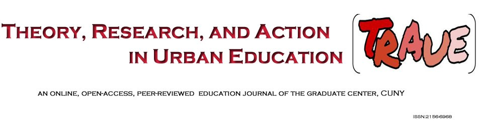 Theory, Research, and Action in Urban Education