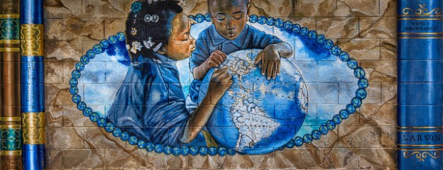 children globe image